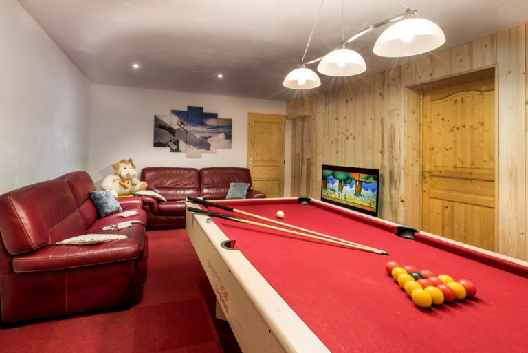Game room with sofas and wii game