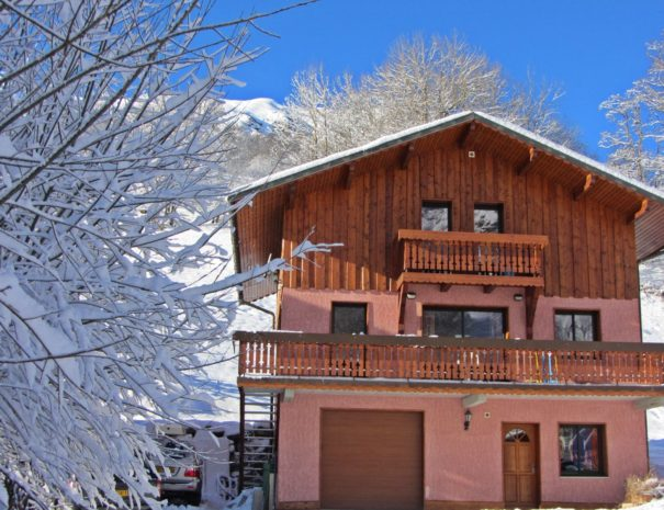 Your ski chalet for sole occupancy