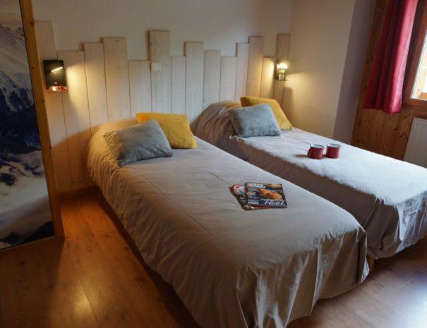 Chalets-Lacuzon Snow Valley ensuite bedroom