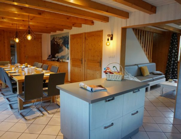 Chalet Snow Valley-living space