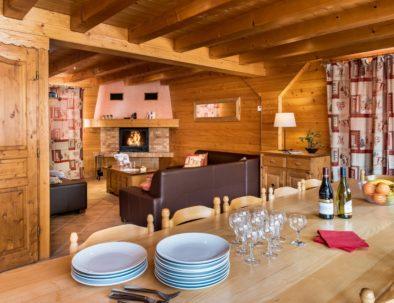 Nice open plan living space