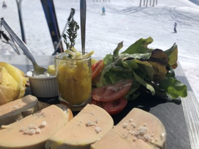 Tasty food on the slopes @Chalets-Lacuzon
