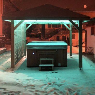 Chalet Snow Valley-spa extérieur